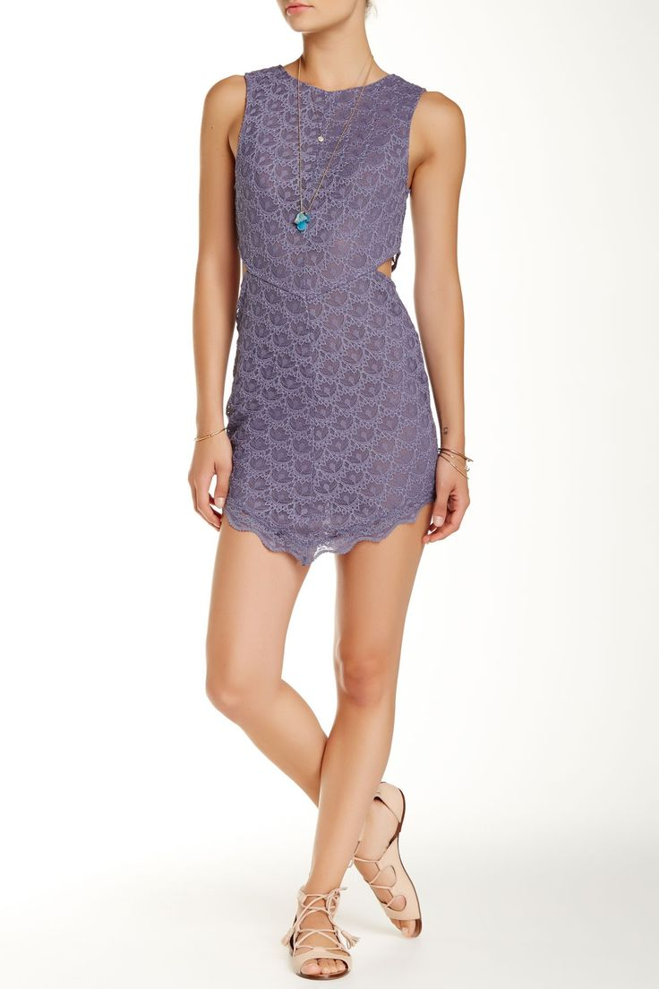 Free People Midnight Hour Slip Dress Sponsored by Nordstrom Rack.