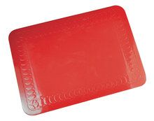 Tenura Silicone Rubber Anti Slip Rechthoekige Mat 25.5x18.5 cm (VM985R)