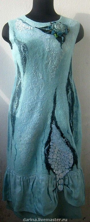 Felted dress
