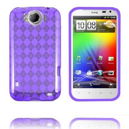 Tuxedo (Violetti) HTC Sensation XL Silikonisuojus