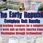 This amazing, gigantic unit bundle includes a month's worth of lessons for American History from George Washington's presidency through Sectionalis...
