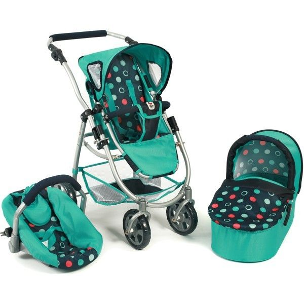 Buy the Bayer Chic 2000 Emotion 3 in 1 Dolls Pram from us - All Models and Colours - Very Low Prices - Fast and Cheap Shipping - 14 Day Returns