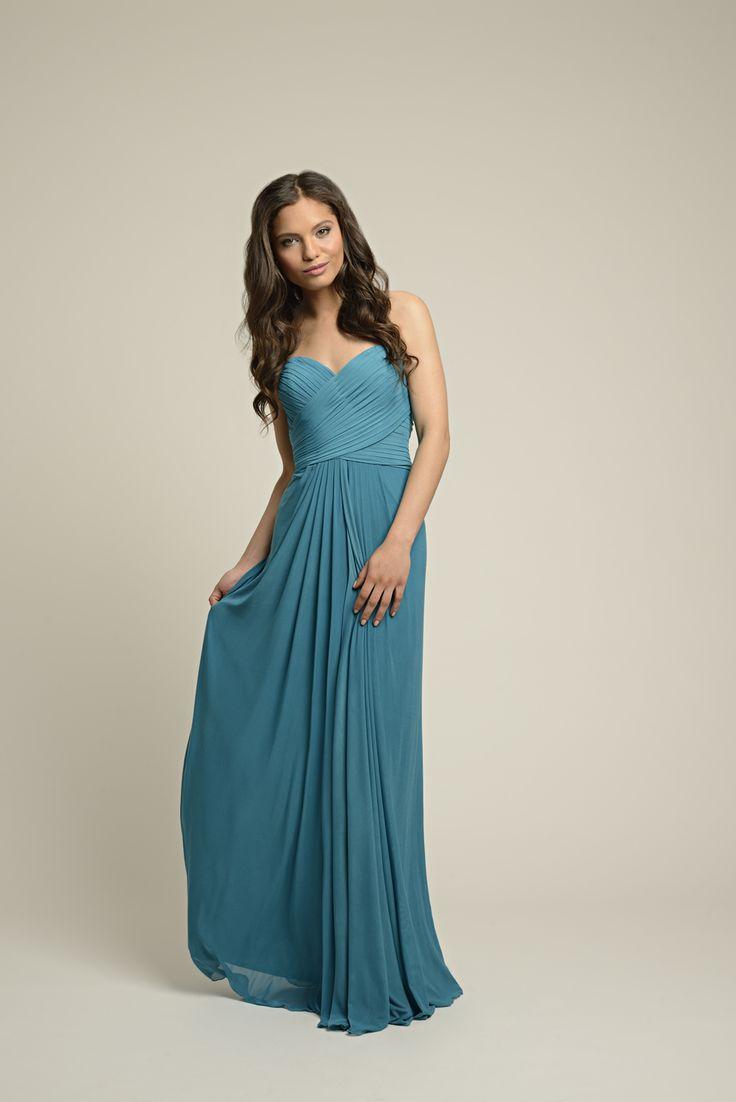 Chiffon Strapless Yasmin Prom or Leavers Ball Dress