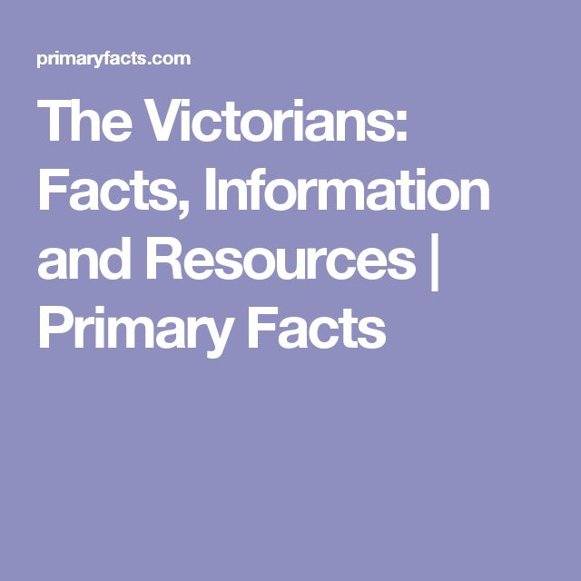 The Victorians: Facts, Information and Resources | Primary Facts