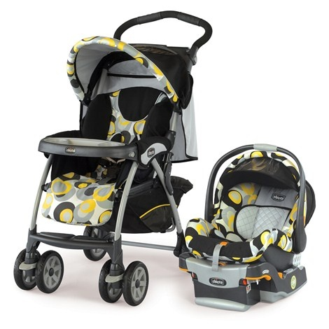 how to put chicco car seat in stroller