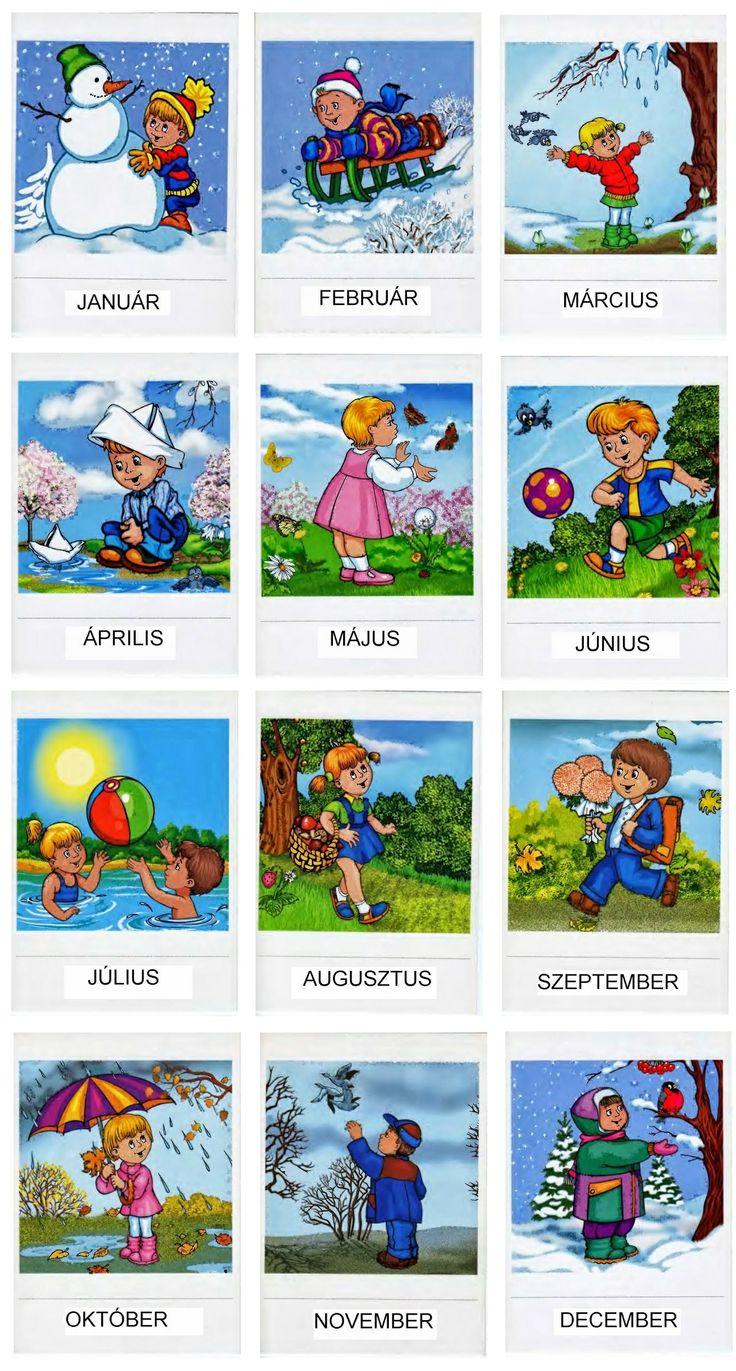 http://www.marcika2005.blogspot.hu/2013/08/honapok-tanitasahoz.html - Hónapok tanulása - learning months