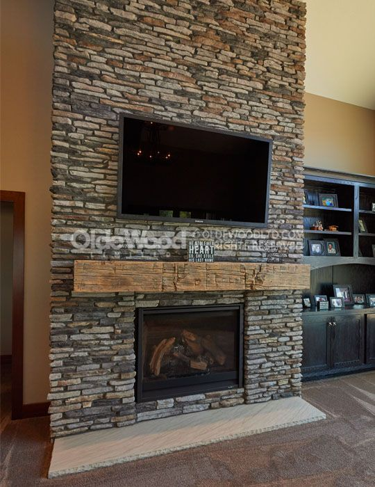Best 25 Reclaimed Fireplaces Ideas On Pinterest Fireplace Accent Walls Rustic Fireplace