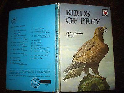 LADYBIRD BOOK - BIRDS OF PREY - Vintage Series 536 no 24 Matt Cover Childrens