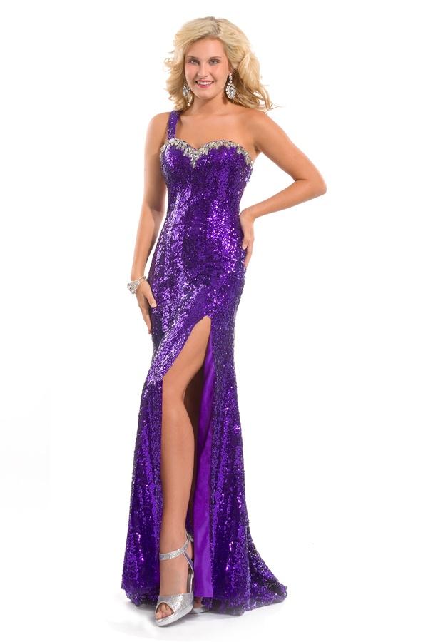 11 best purple gowns images on Pinterest   Purple gowns, Violet ...