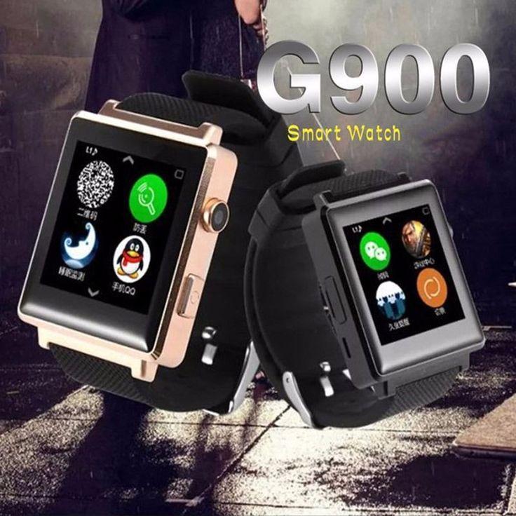 Smart Watch G900 Uhr Sync Notifier Unterstützung Sim-karte Bluetooth Kamera Für Apple iphone Android Telefon Smartwatch Uhr //Price: $US $51.11 & FREE Shipping //     #clknetwork