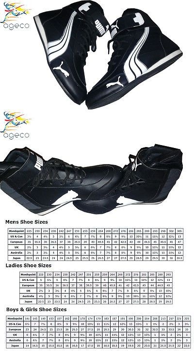 Clothing and Protective Gear 159029: Puma Go Kart Karting Karter Race Racing Boots Shoes -> BUY IT NOW ONLY: $82.13 on eBay!