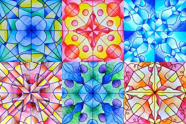 The radial symmetry has elements identical and symmetrical, relative to a central point, such as we can observe in the shape of snow crystals or in the disposition of the petals in a flower. Aft...