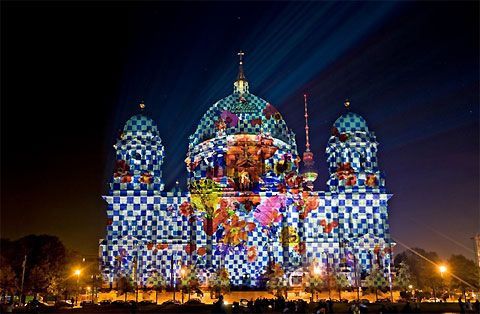 Trip the light fantastic at Berlin's annual Festival of Lights — Lost At E Minor: For creative people