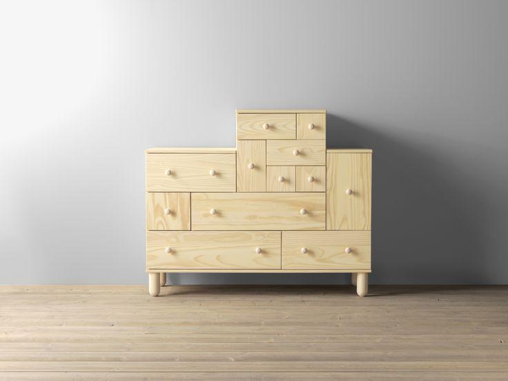 IKEA PS 2012 ladekast en opzetladekast | #IKEAcatalogus #nieuw #2017 #IKEA #IKEAnl #kast #lades #opzet #woonkamer #slaapkamer #hal