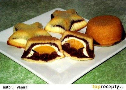 Trojbarevné muffiny recept - TopRecepty.cz