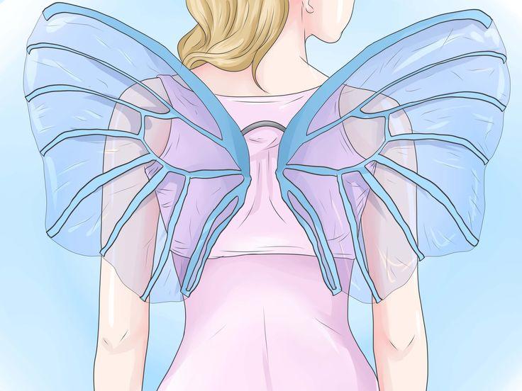 Fabriquer des ailes de fée                                                                                                                                                     Plus