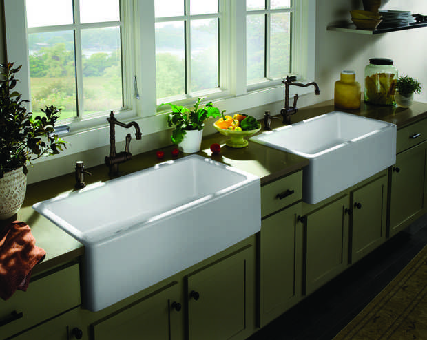Large Deep Kitchen Sinks | ... Farm Sink With Its Generous 10 Inch Deep