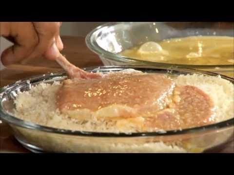 Veal Chop Milanese Recipe by Chef Michael Symon