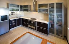 You can save a lot on the type of materials for the cabinet. If you opt for a solid wooden one, then you need to shell out a lot more http://www.primoremodeling.com