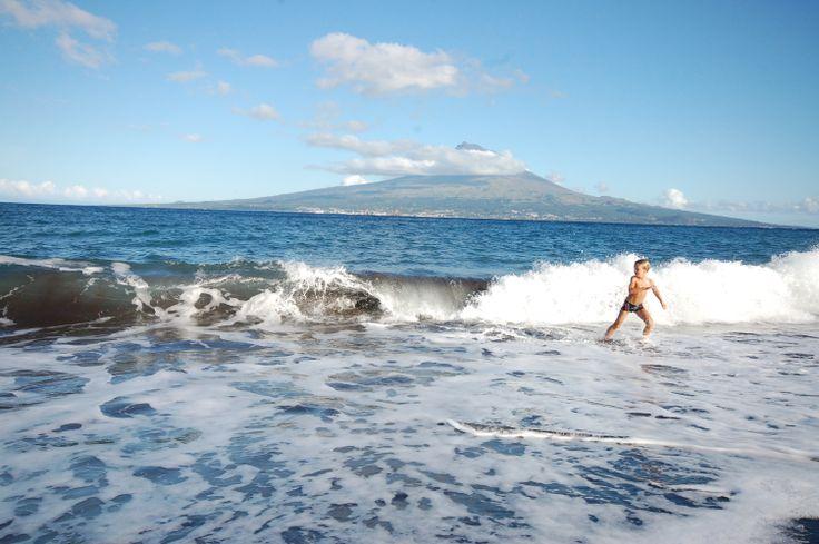 Faial / Azores / beach baby