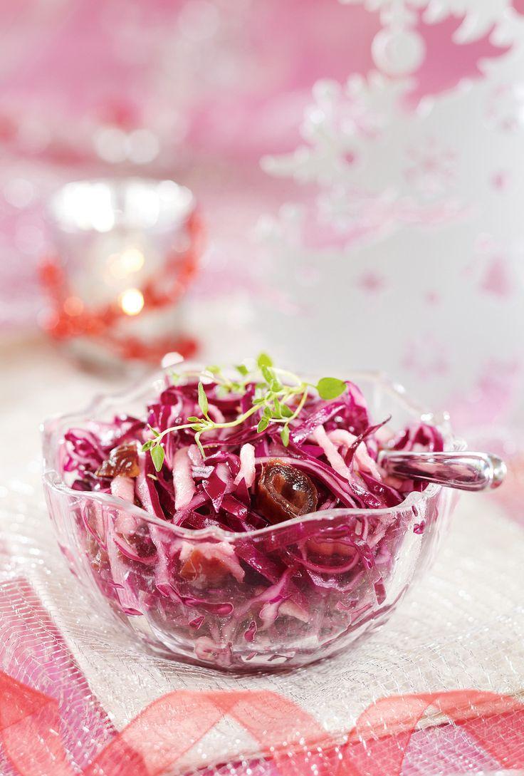 Mehevä punakaalisalaatti | K-ruoka #kaali