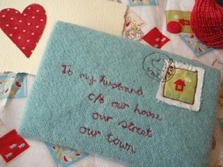Love letter and other tutorialsValentine Crafts, Homemade Valentine, Felt Wool, Valentine Cards, Valentine Ideas, Valentine Gift, Crafts Blog, Hands Sewn, Love Letters
