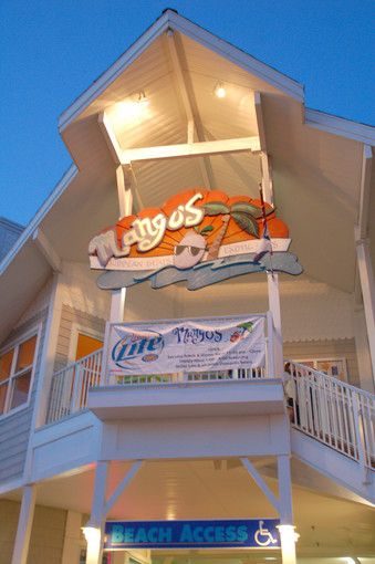 Mango's :) A yummy little restaurant in Bethany Beach