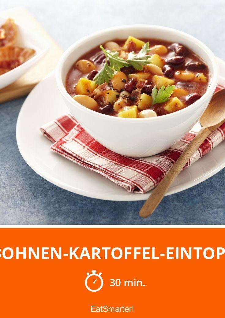 Bohnen-Kartoffel-Eintopf - smarter - Zeit: 30 Min.   eatsmarter.de