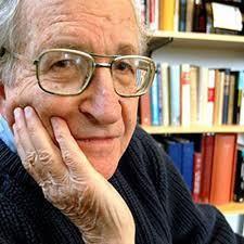 Ο διάσημος Αμερικάνος γλωσσολόγος και ακτιβιστής Νόαμ Τσόμσκι