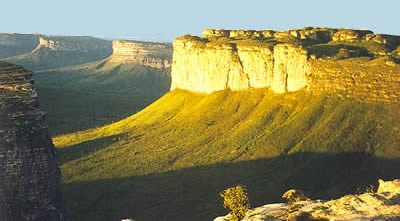 Chapada Diamantina in Brazil. I'm pretty sure that's the plateau we climbed to the top of when I was there