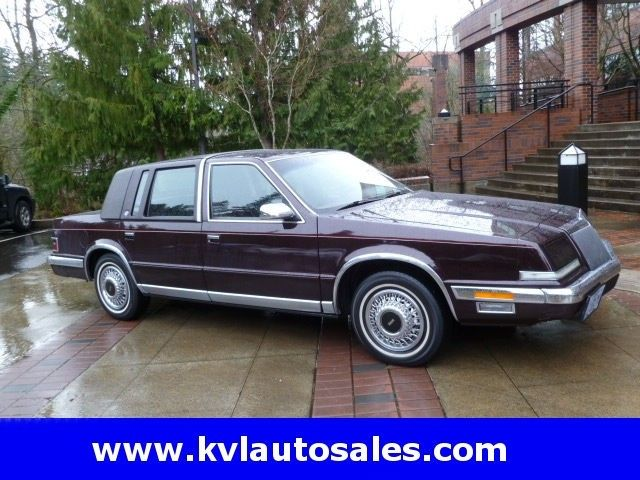 1990 Chrysler Imperial For Sale 1990 Chrysler Family