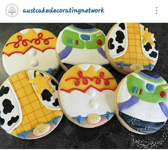 Toy Story cookie #Woody #Jessie #BuzzLightYear