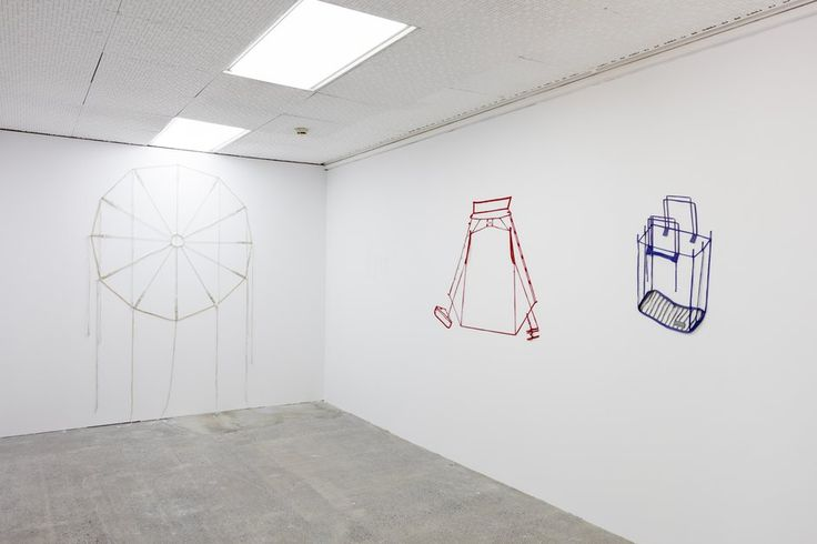 Pip Culbert's Seams, as installed at Artspace.  Courtesy of Pip Culbert Estate and Hopkinson Mossman, Auckland. Photo: Sam Hartnett