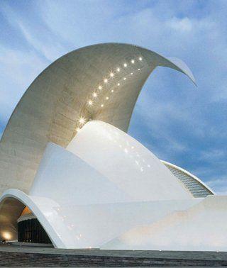 Tenerife Auditorium, Santa Cruz de Tenerife, Spain 1991-2003 by Santiago Calatrava