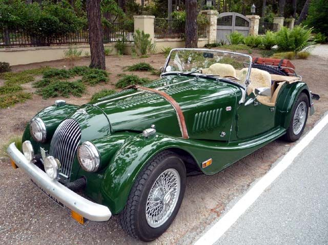1983 Morgan Roadster <3 <3 Not feelin' the color though.