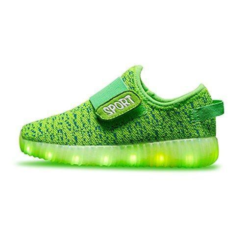 Oferta: 26.99€. Comprar Ofertas de Sollomensi Unisex Zapatillas con luces 7 Colors USB Carga LED Luz Luminosas Flash Zapatos Deporte Para Niños Niñas Hombre Muj barato. ¡Mira las ofertas!