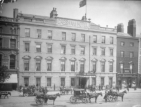 Gresham Hotel, Dublin  1900 - The first time I stayed here was in 1969 and fell in love with this great old hotel... Love it!