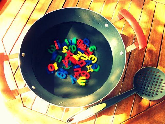 Γραμματόσουπα! Δυσγραφία, Δυσλεξία και γράμματα! Μια άσκηση για τη κατάκτηση της μορφής των γραμμάτων! Dyslexia, dysgraphia and letters!