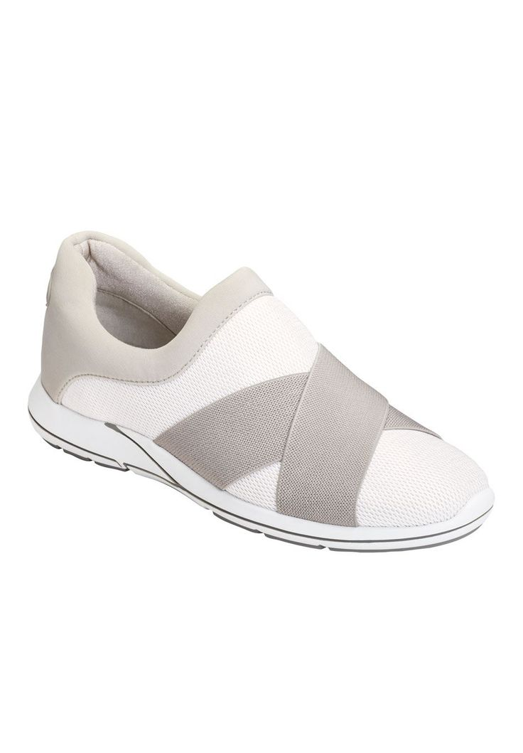 Race Track Sneakers by Aerosoles - Women's Plus Size Clothing