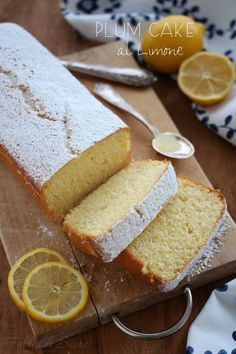 Plumcake al limone | Fables de Sucre