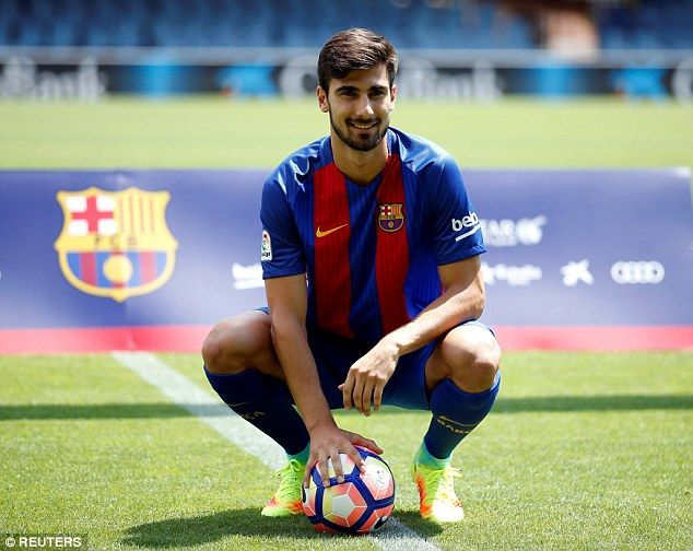 Gomes will have to compete with the likes of Andres Iniesta and Ivan Rakitic for a first team berth