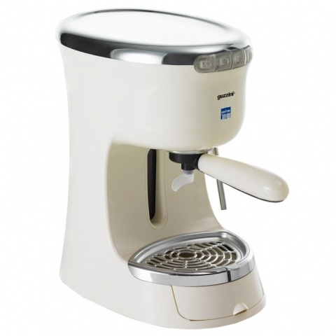 Lavazza Guccini Espresso Machine Ivory with 1.3L Removable Water Tank Small Appliances ...