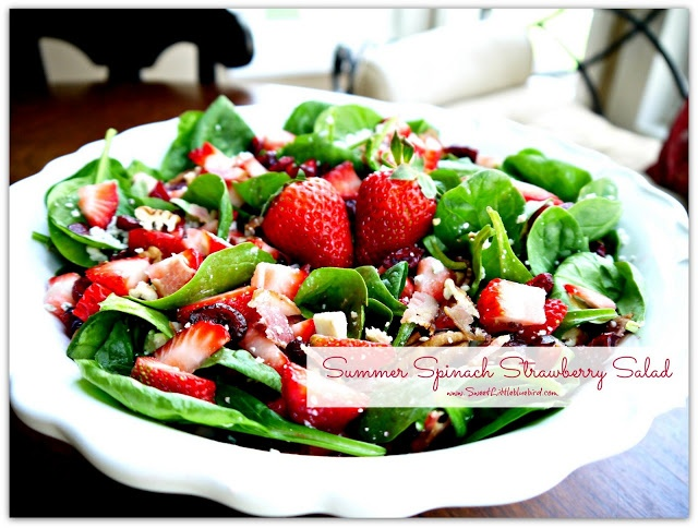 ... Salads on Pinterest | Mandarin oranges, Spinach salads and Chicken