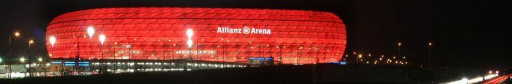Home of FC Bayern Munich - Allianz Arena