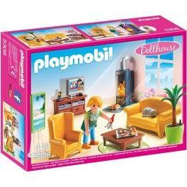 Playmobil 5308: Sala de estar. Precio: 17,95 € Disponible en: http://www.playmoclicks.com/es/casa-munecas/1227-playmobil-5308-sala-de-estar.html
