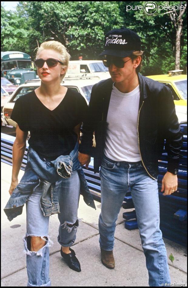 Madonna & Sean Penn (1987)