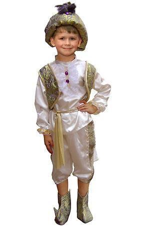 Новогодний мужской восточный костюм для мальчика