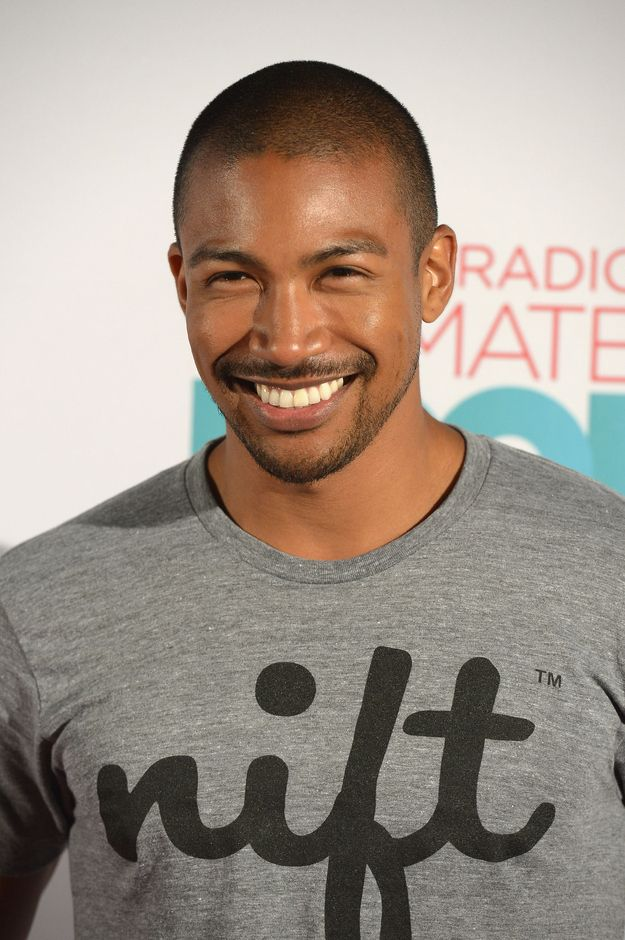 "Charles Michael Davis portrays the character of Marcel in the tv show ""The Originals""......"
