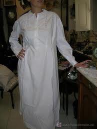 camisón:  camisa larga usada para dormir