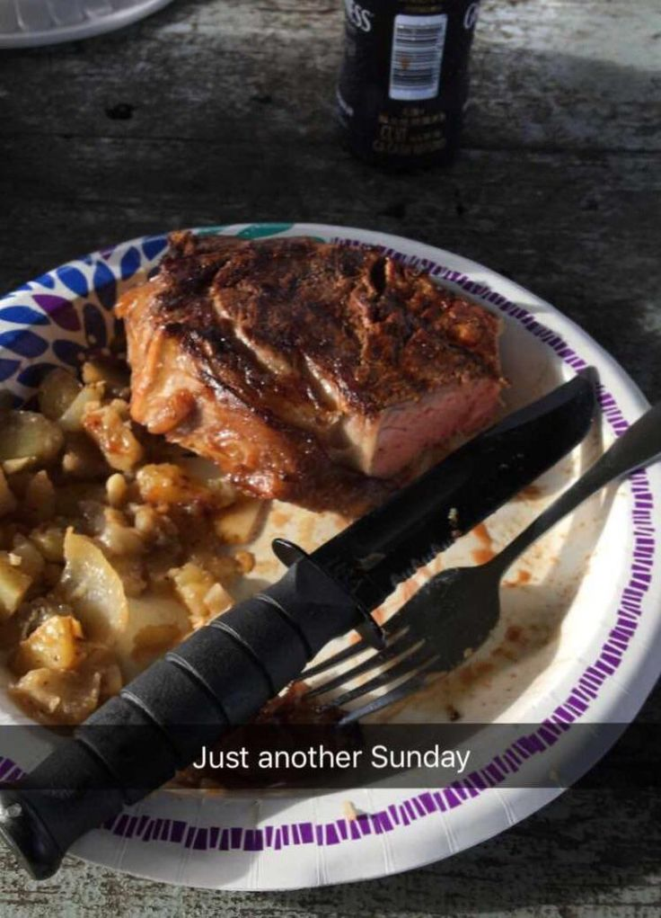 After learning from my buddy I took a leap and grilled my first steak with potatoes as onions. #grilling #BBQ #Deals #recipes #discounts #summer #foodie #food #recipe #free